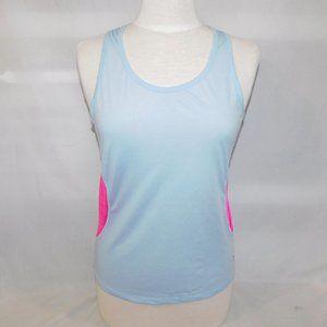 Xersion Womens S Light Blue Pink Tank Top